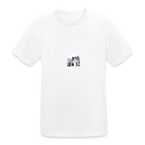 KIshanth - Männer T-Shirt atmungsaktiv