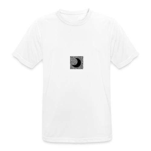 Logo only - Mannen T-shirt ademend actief