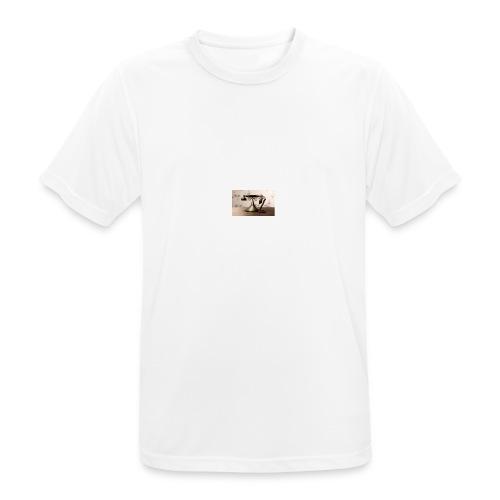 telefono - Camiseta hombre transpirable