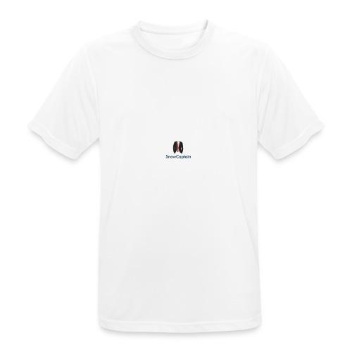 SnowCaptain - mannen T-shirt ademend
