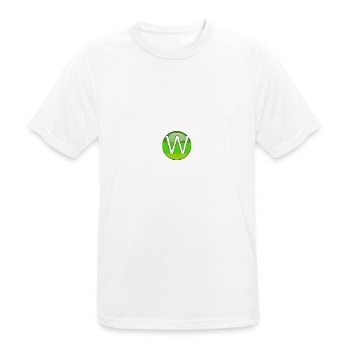 Alternate W1ll logo - Men's Breathable T-Shirt