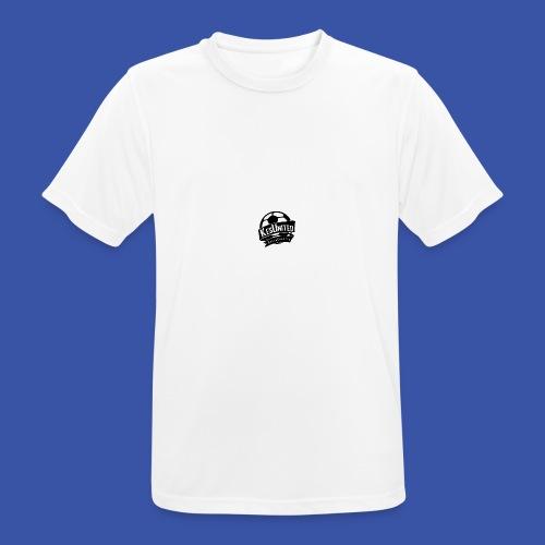 Zwart/Wit KesUnited - mannen T-shirt ademend