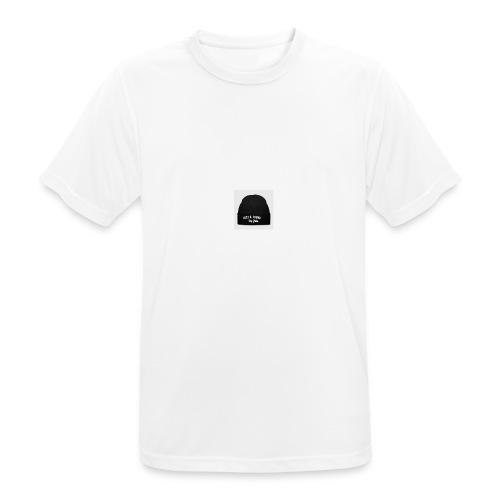 Lost & Found lue - Pustende T-skjorte for menn