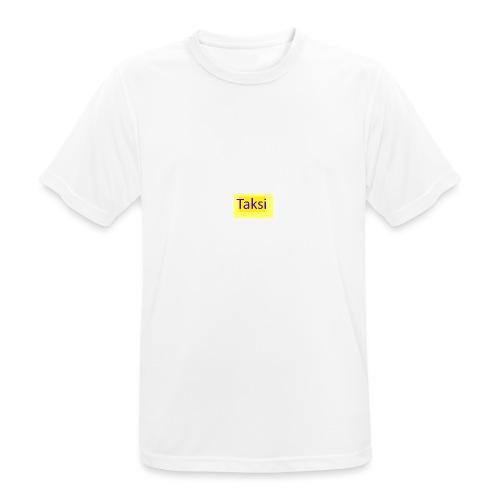 Taksi - miesten tekninen t-paita