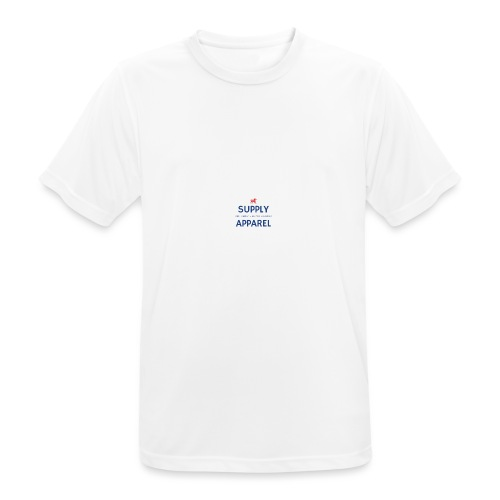 Plain EST logo design - Men's Breathable T-Shirt
