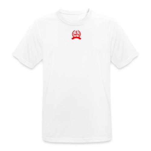 nerty logo rouge - T-shirt respirant Homme