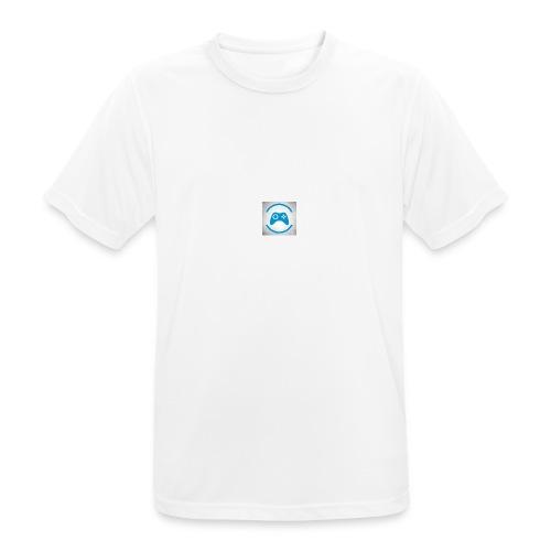 mijn logo - mannen T-shirt ademend