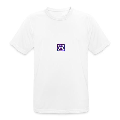 Multi-Host Logo - Männer T-Shirt atmungsaktiv