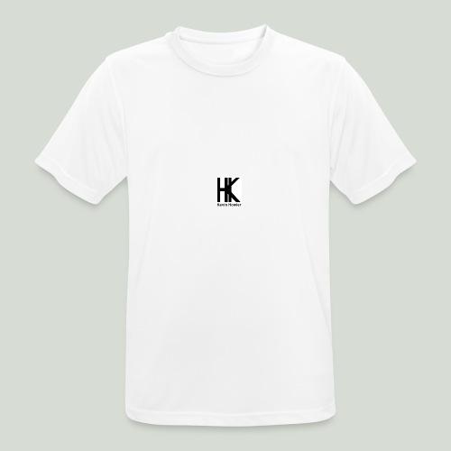 HK Logo - Mannen T-shirt ademend actief