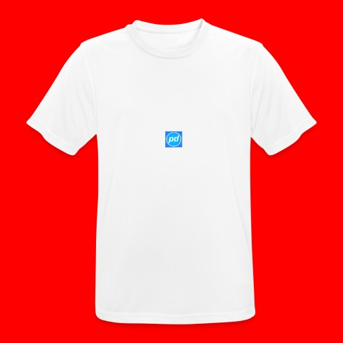pd Blue V2 - Herre T-shirt svedtransporterende