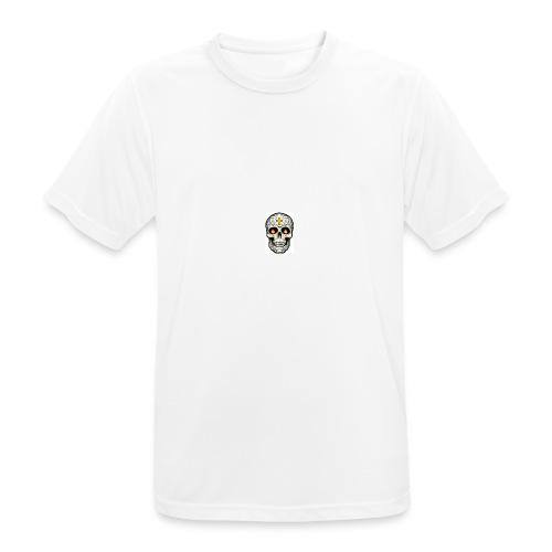 tete de mort - T-shirt respirant Homme