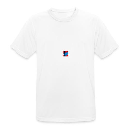 NorPot SAS ACE - Pustende T-skjorte for menn