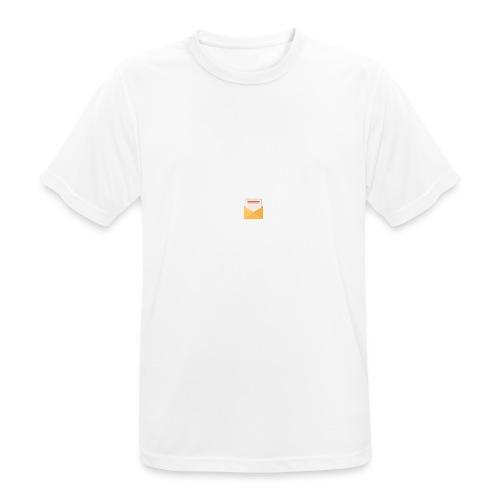 brev t-shirt - Andningsaktiv T-shirt herr