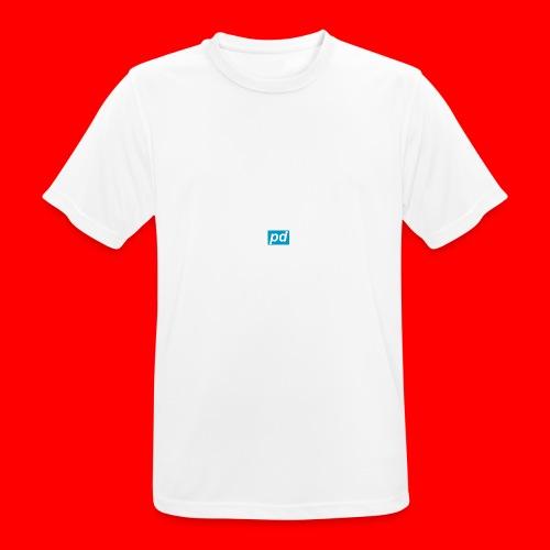 pd Blue - Herre T-shirt svedtransporterende