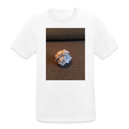 Jeg skal lave et projekt i billedkunst - Herre T-shirt svedtransporterende