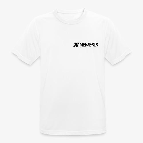 Nemesis Black Logo - Men's Breathable T-Shirt