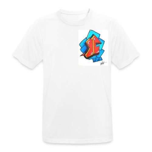 T1 - mannen T-shirt ademend