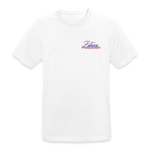 PATACCA PRODUCTION - Maglietta da uomo traspirante