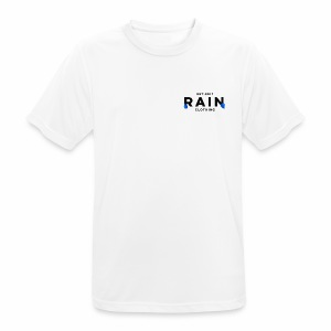 Rain Clothing Tops -ONLY SOME WHITE CAN BE ORDERED - Men's Breathable T-Shirt