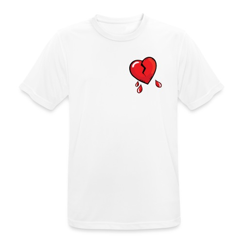 Broken Heart - Men's Breathable T-Shirt