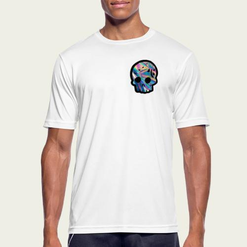 Skull craneo reflejante - Camiseta hombre transpirable