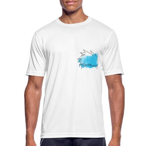 Blue Splat Original - Men's Breathable T-Shirt