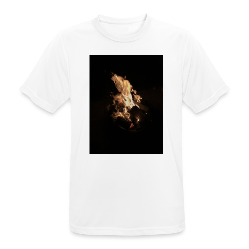 Bonfire Print - Men's Breathable T-Shirt