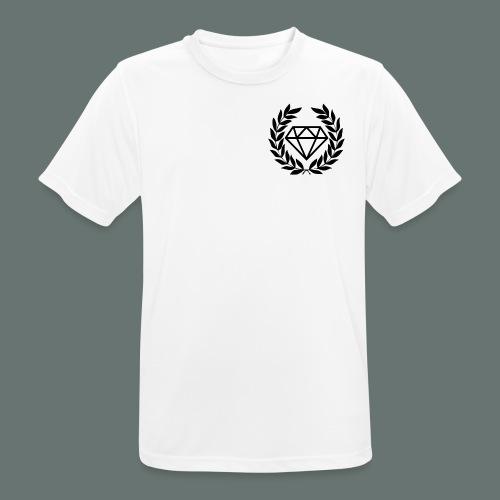 Black diamond Logo - Men's Breathable T-Shirt