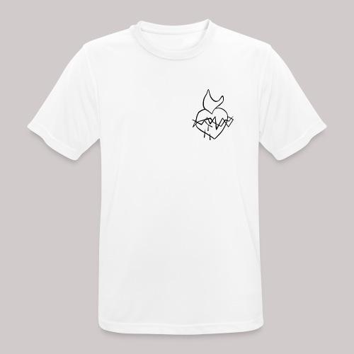 Sagrado Corazón de Jesús - Camiseta hombre transpirable