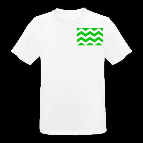 Vlag westland kassen - mannen T-shirt ademend
