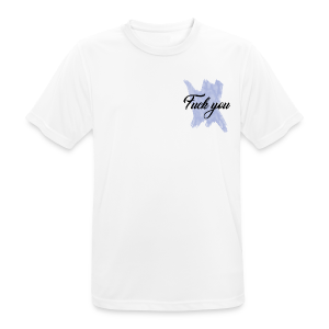 F*** You Blue - Men's Breathable T-Shirt