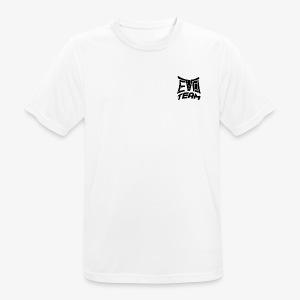 EvoTeam Petit Noir - T-shirt respirant Homme