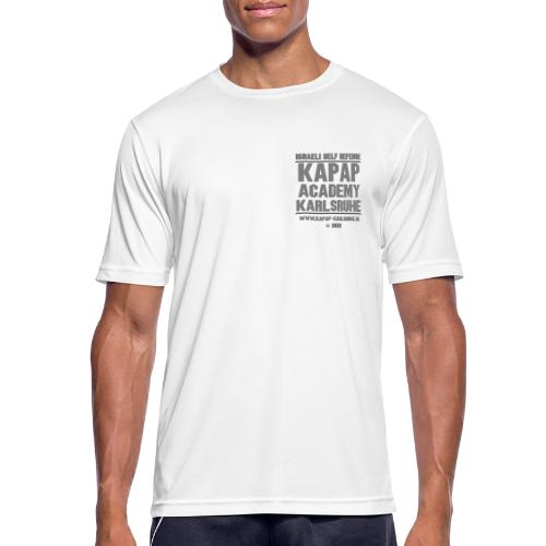 2020 KAPAP ACADEMY Karlsruhe - Männer T-Shirt atmungsaktiv
