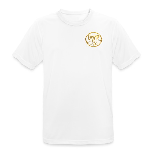 BII GOLD WHITE 2 png - Men's Breathable T-Shirt