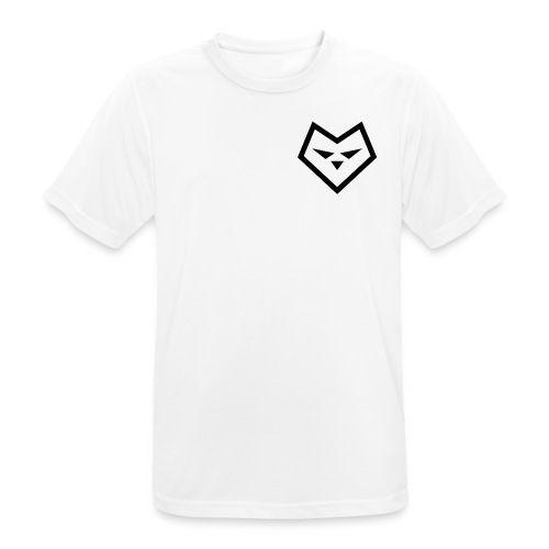 Zw udc logo - mannen T-shirt ademend