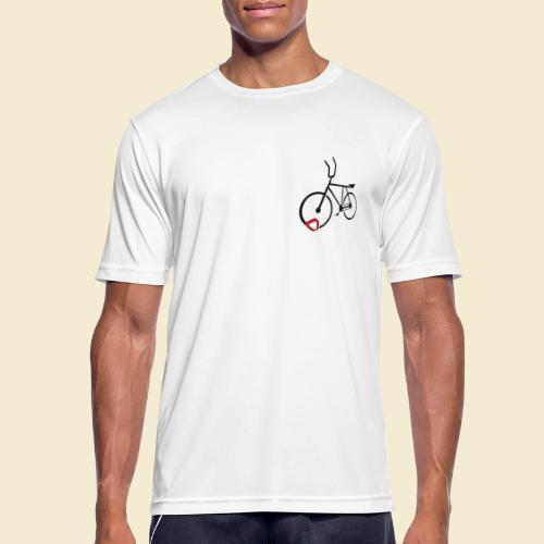 Radball | Cycle Ball Polo black - Männer T-Shirt atmungsaktiv