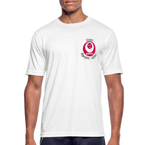 Jissen Karate Jutsu - Herre T-shirt svedtransporterende