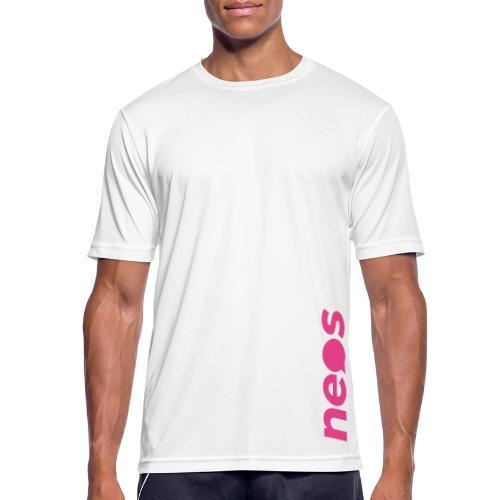 NEOS pink - Männer T-Shirt atmungsaktiv