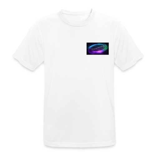 Small Chest logo - Men's Breathable T-Shirt