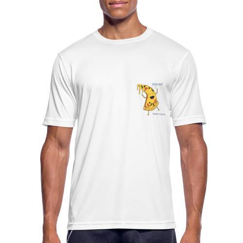 Pizza - Männer T-Shirt atmungsaktiv