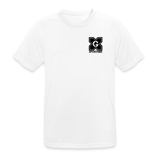 Logo GX SPORTNER noir - T-shirt respirant Homme