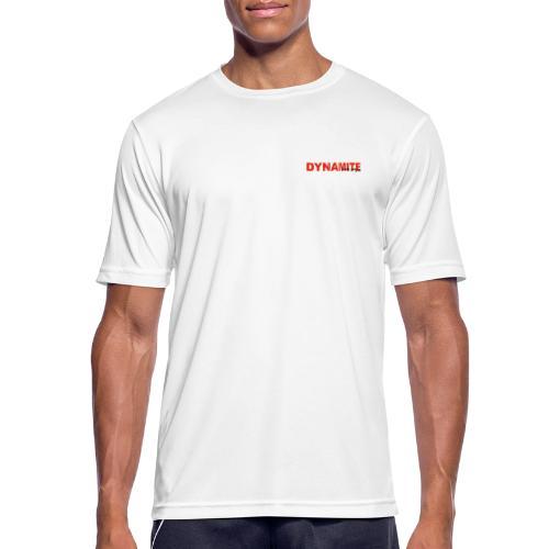 DYNAMITE - Explode your day! - Andningsaktiv T-shirt herr