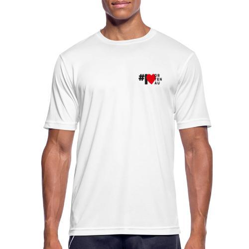 # I LOVE ORTENAU - Männer T-Shirt atmungsaktiv