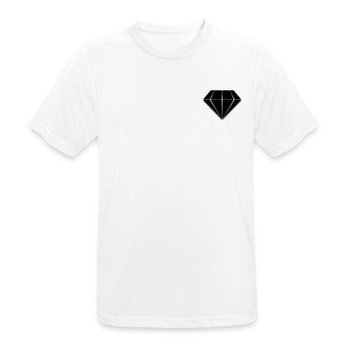 Diamonds Crew - Maglietta da uomo traspirante