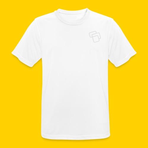 Big Logo Grey - Men's Breathable T-Shirt