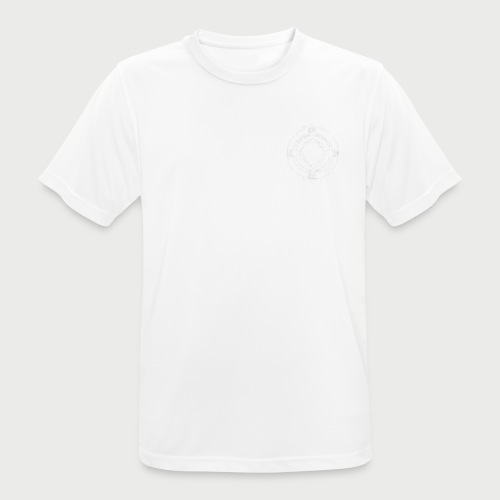 KFTG Logo weiss - Männer T-Shirt atmungsaktiv