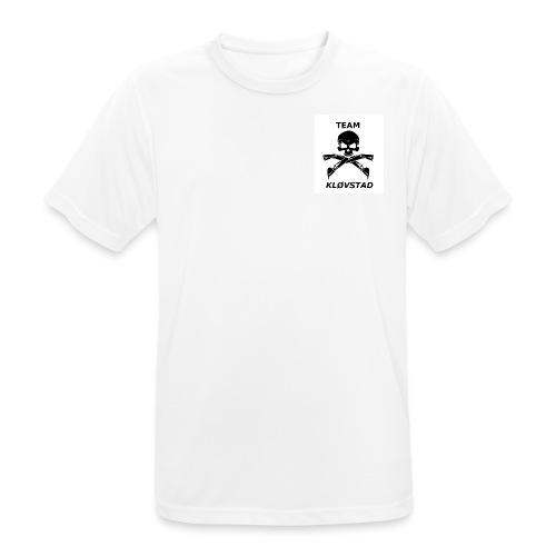 Team Kløvstad 2 - Pustende T-skjorte for menn
