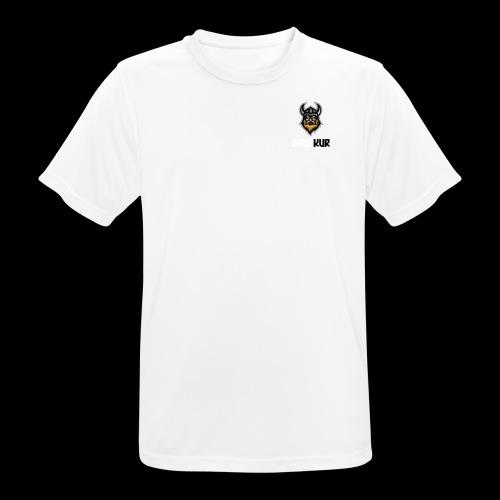 Logo transparent - Pustende T-skjorte for menn