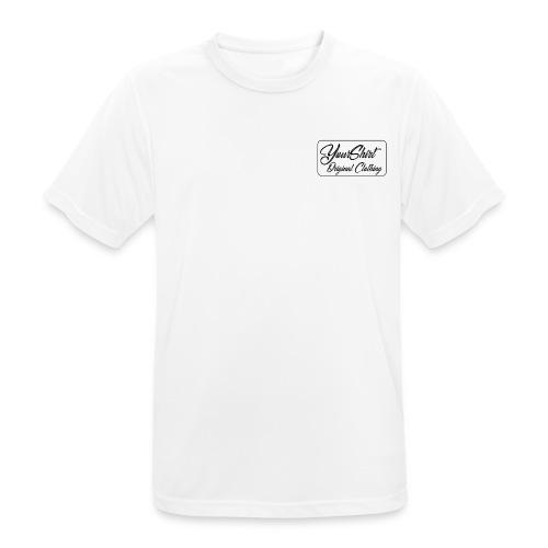 YourShirt - Maglietta da uomo traspirante