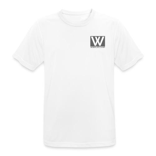 logo spread - Männer T-Shirt atmungsaktiv